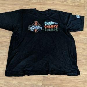 SF Giants  world champs 2014 shirt size XL